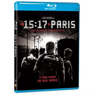 15:17 Paris Treni / 15:17 To Paris - 2D Blu-Ray