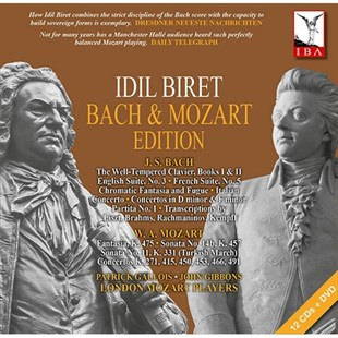 İdil Biret - Bach & Mozart Edition 12 CD + 1 DVD Set