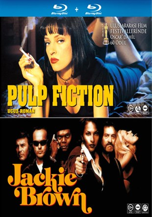 Pulp Fiction - Jackie Brown - Pulp Fiction - Jackie Brown 2 Film Set